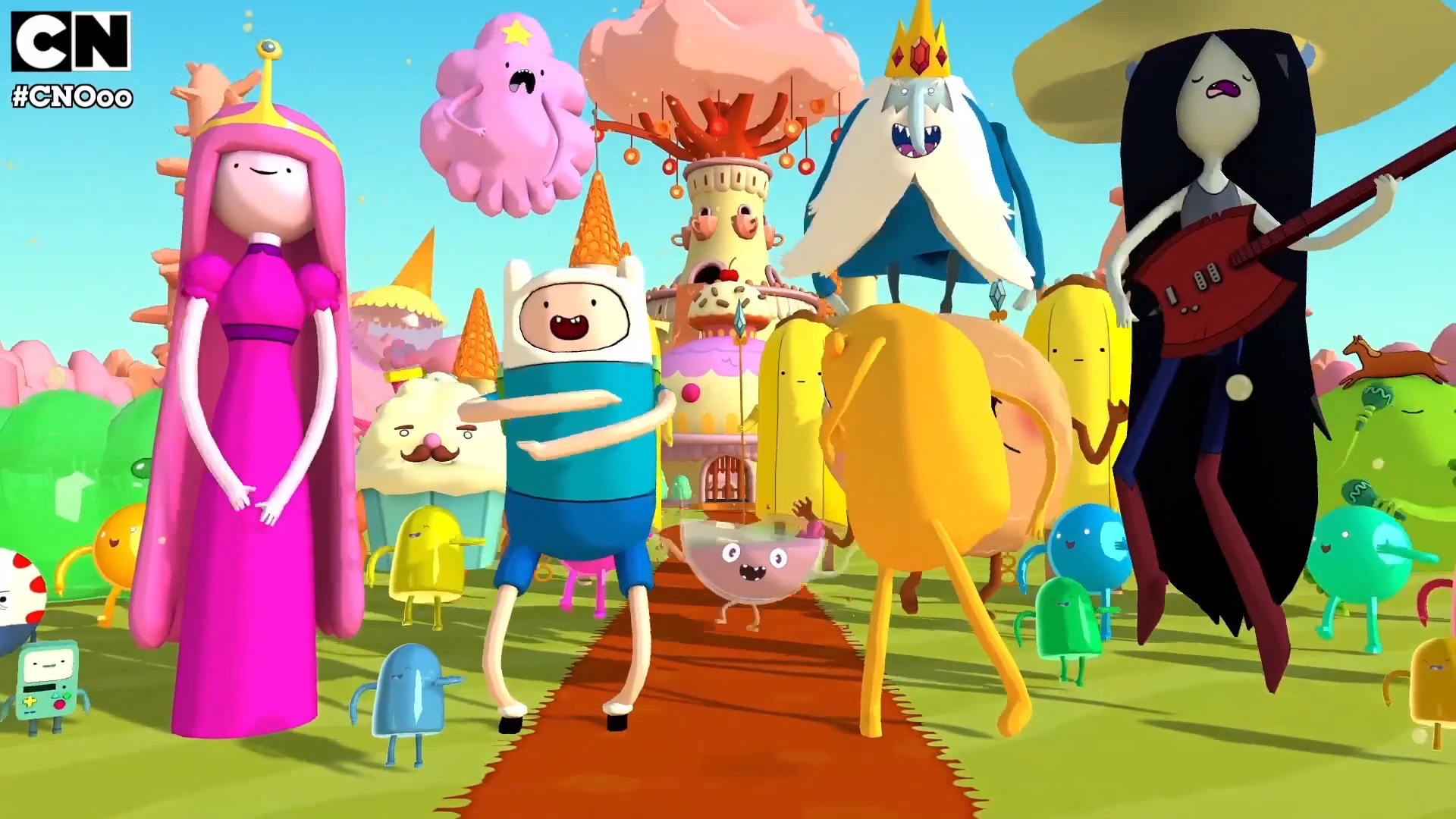 Adventure Time Candy Concept Art